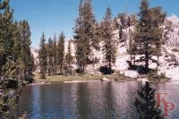 Arndt Lake Yosemite