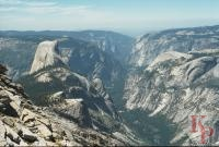 Half Dome from Clouds Rest, Yosemite