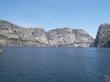 Hetch Hetchy Vally full of water, Yosemite