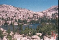 Smedberg Lake, Pacific Crest Trail, Yosemite